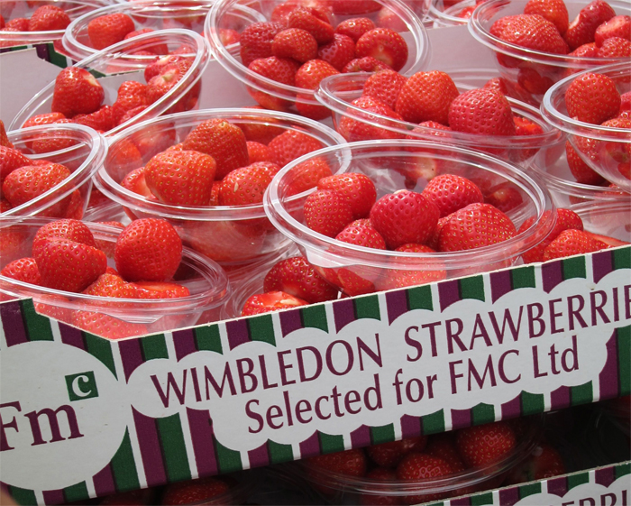 Wimbledon and Strawberries