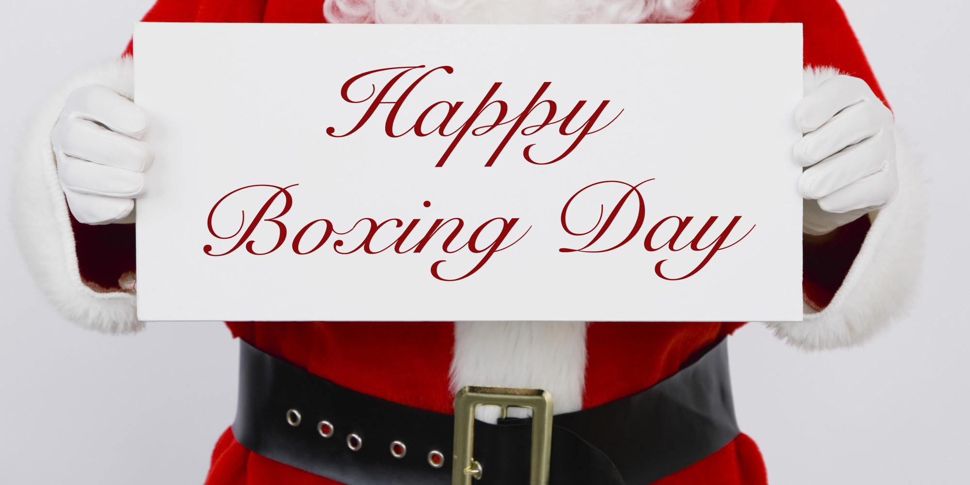 С Рождеством понятно. А что такое Boxing Day