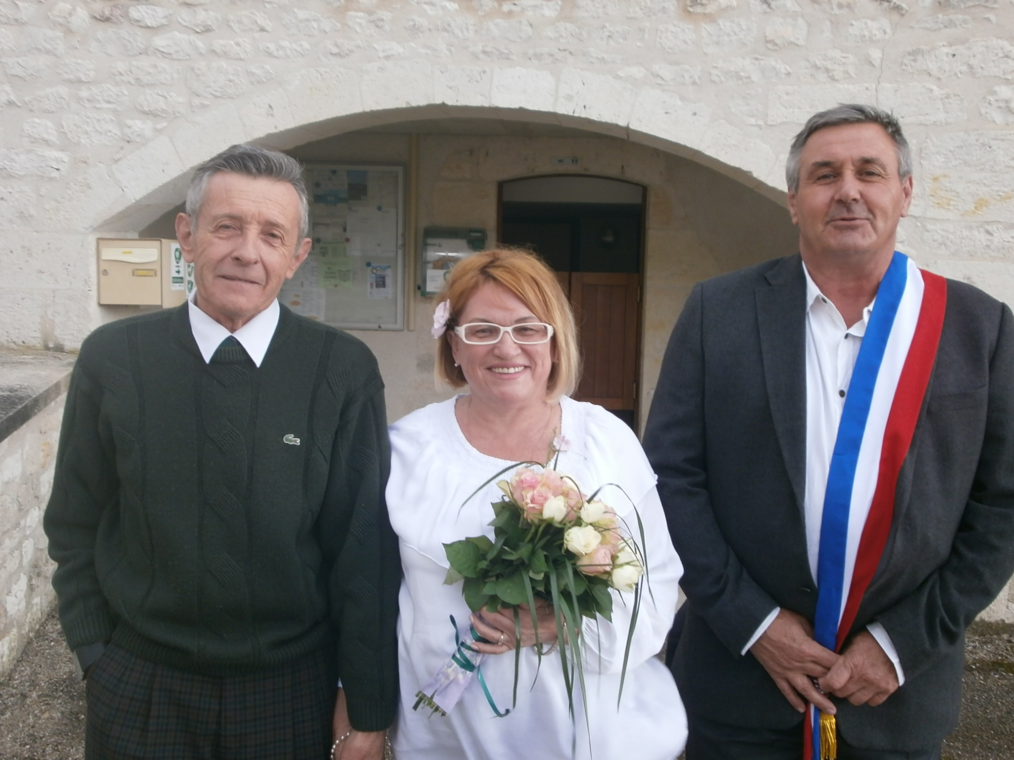 Поздравляем с бракосочетанием! Счастья Жан-Клоду и Надежде!
