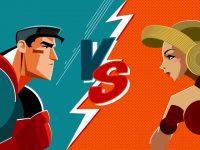 Женщины против мужчин. New Level