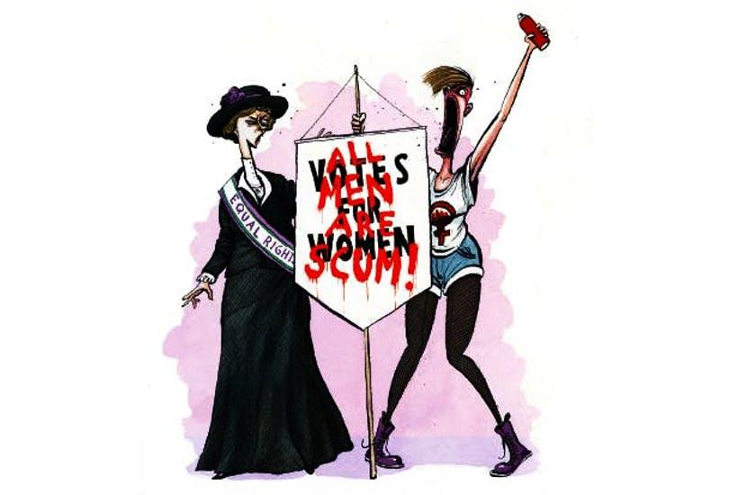 Как феминизм мешает занять сторону женщин